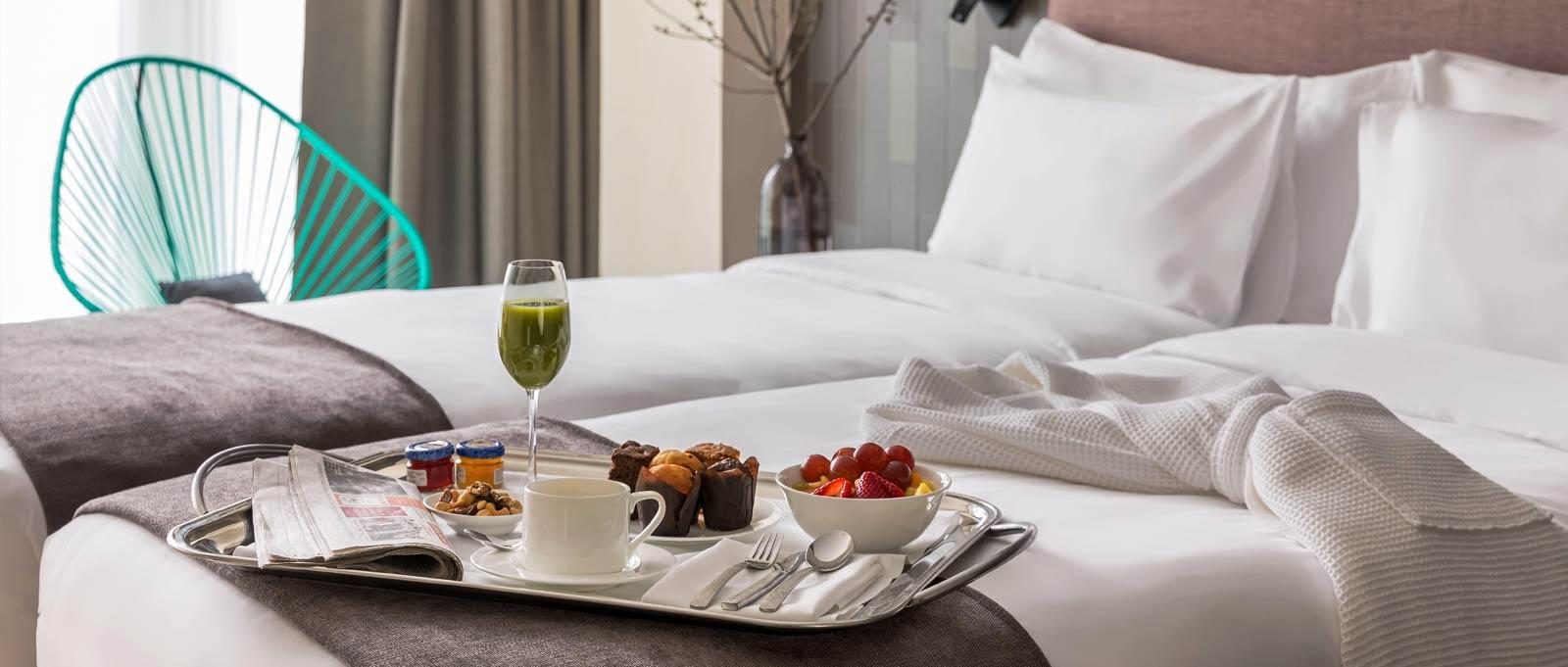 Un desayuno Michelin en el Hotel Ohla Eixample